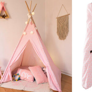 Tipi Decorativo ATMOSPHERA 127176A Rosa